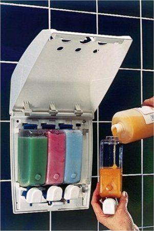 Better Living The Dispenser Clic 4 Chamber Shower Dispensers