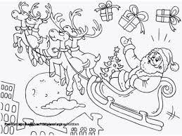Weihnachtsmann Schlitten Malvorlage