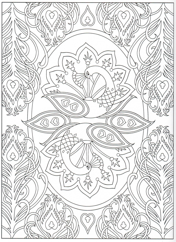 Peacock Coloring Page 17 31 Peacock Coloring Pages Coloring