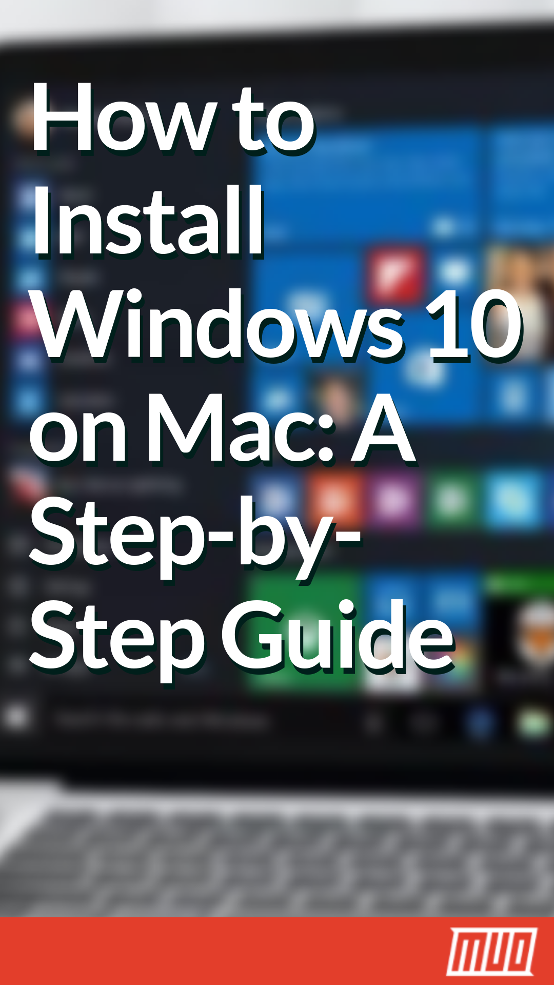 windows 10 usb install macos
