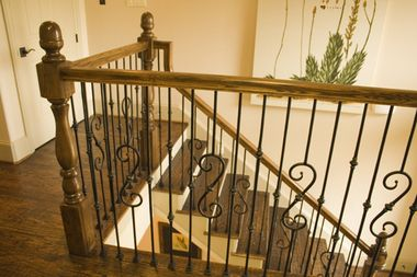 Best 2 1 9 Single Knuckle Iron Baluster Iron Balusters 640 x 480