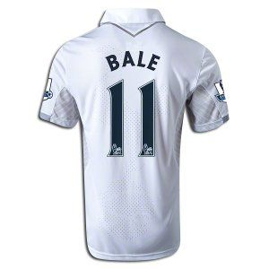 separation shoes 483f3 c7089 Tottenham Hotspur #11 Gareth Bale Home Football Jersey 12/13 ...