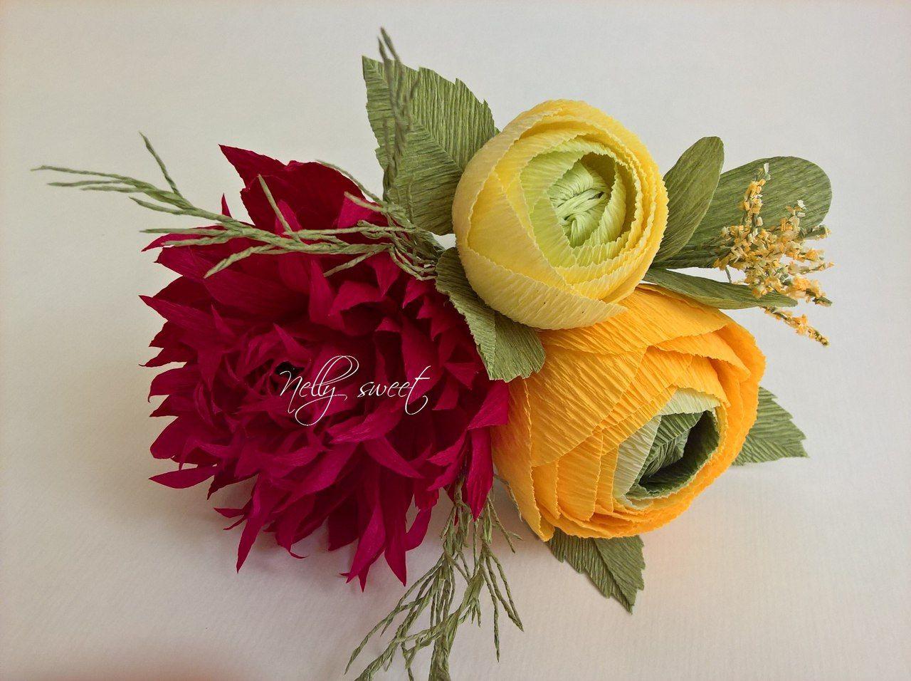 Nelli shkolnikova vk krep pinterest paper flowers paper