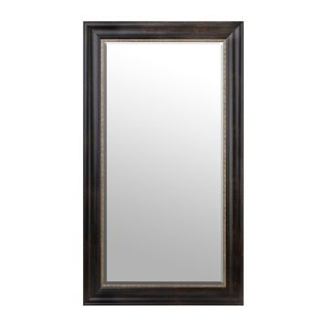 Product Details Gold Trimmed Espresso Framed Mirror 32x56