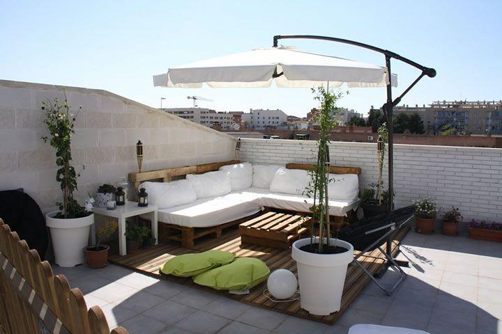 Terrazas en azotea interiorismo interior design 04 for Jardin en azotea diseno