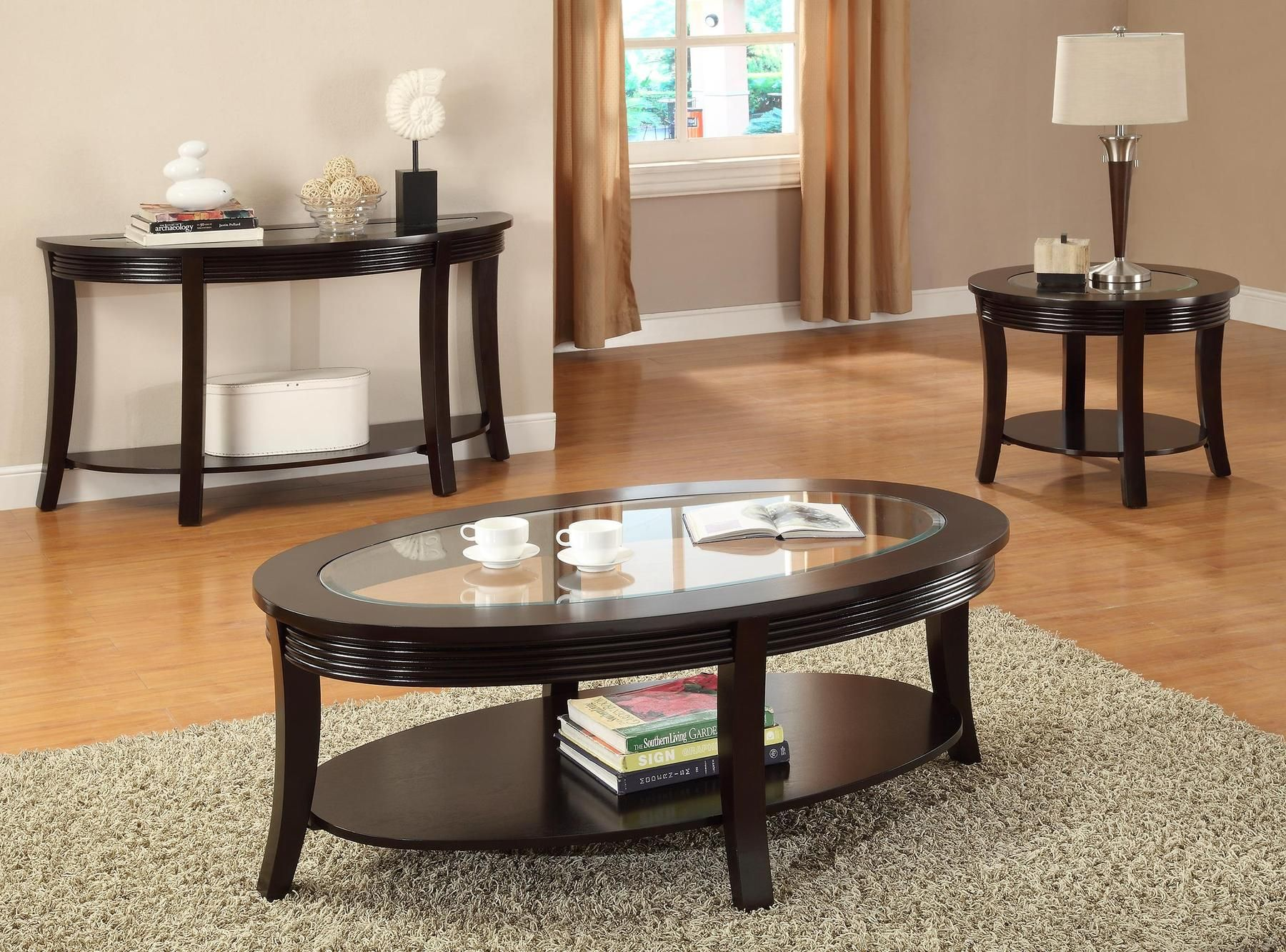 P6102 Coffee Table F6102 6103 6101 Poundex Coffee Tables Coffee Table Coffee Table Setting Table [ 1333 x 1800 Pixel ]