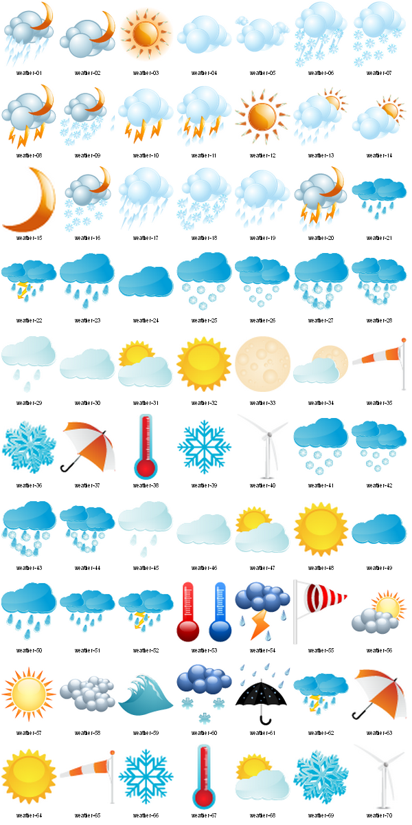 Weather ico free vector clipart Clip art, Free clip art