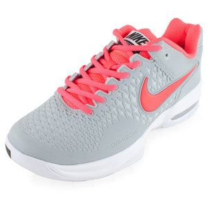 wholesale dealer 70116 a39c1 Women`s Air Max Cage Tennis Shoes Silver Wing and Hyper Punch