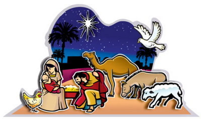 graphic about Nativity Clipart Free Printable named Absolutely free printable nativity reduce out scene Bible Functions for