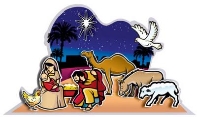 28+ Free printable religious christmas clipart ideas