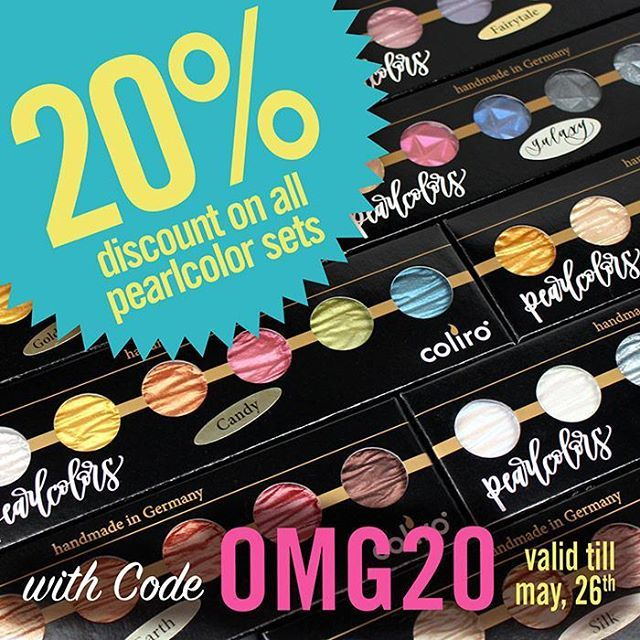 As a very special offer we grant 20% discount on all