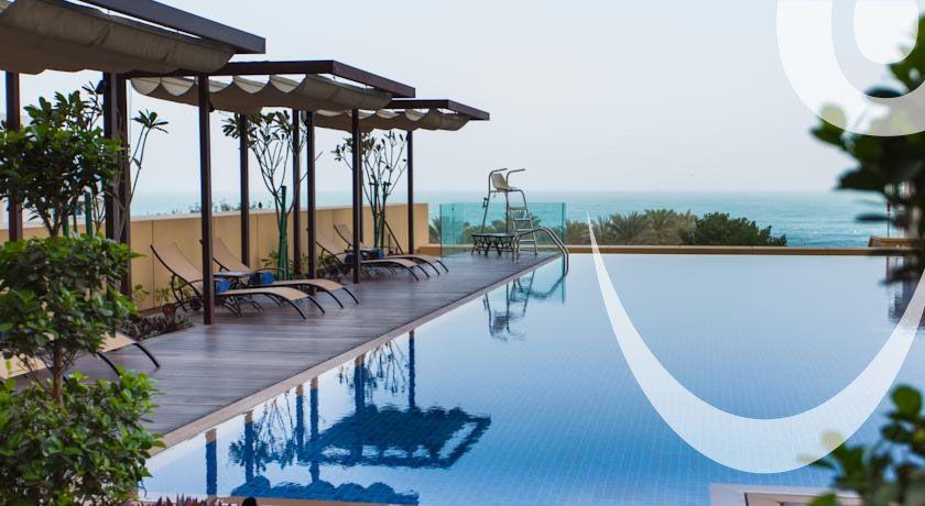 JA Ocean View Hotel Dubai, located near The Beach Mall and close to Dubai Marina Mall.