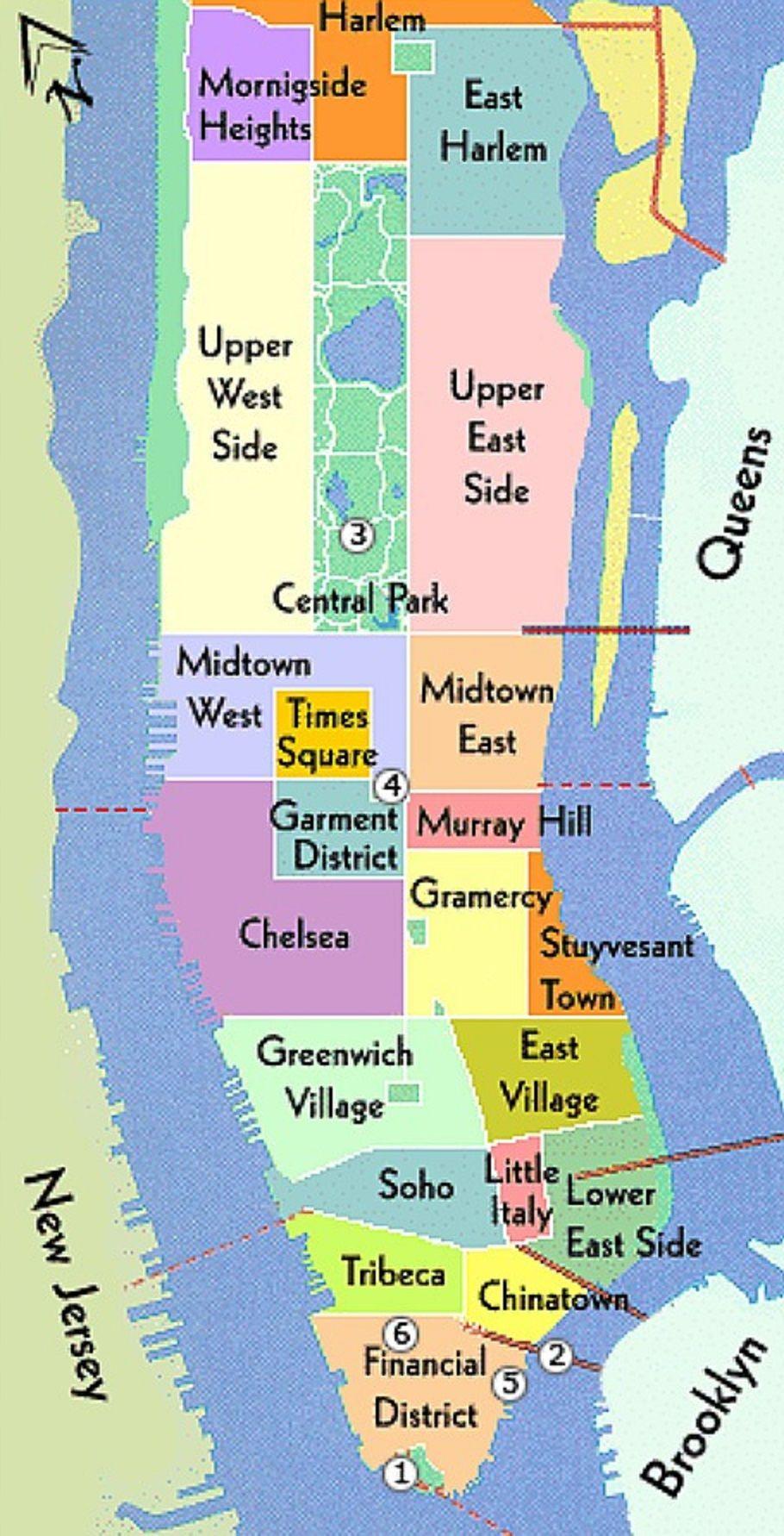 Manhattan, New York / Vereinigte Staaten von Amerika ...