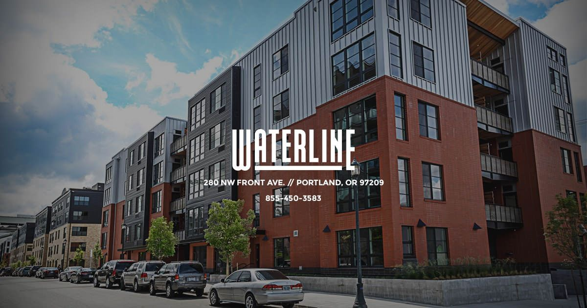 Waterline Apartments in Portland, Oregon is your jumping