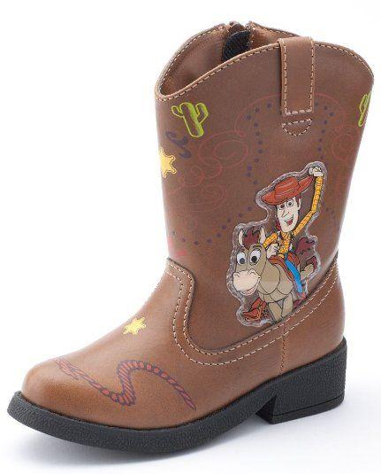 Disney Toy Story Light Up Cowboy Boots