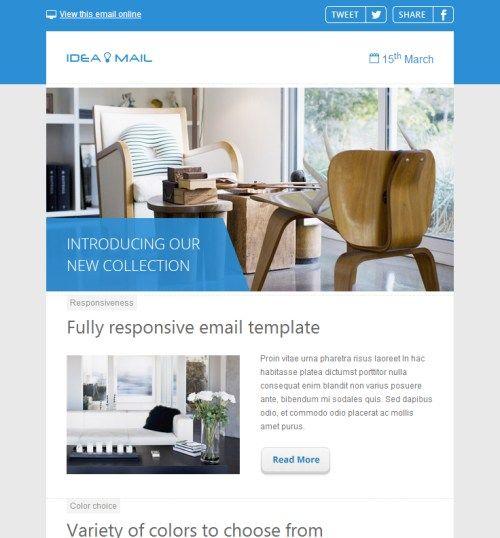 35 Outstanding Html Email Newsletter Templates Newsletter Html