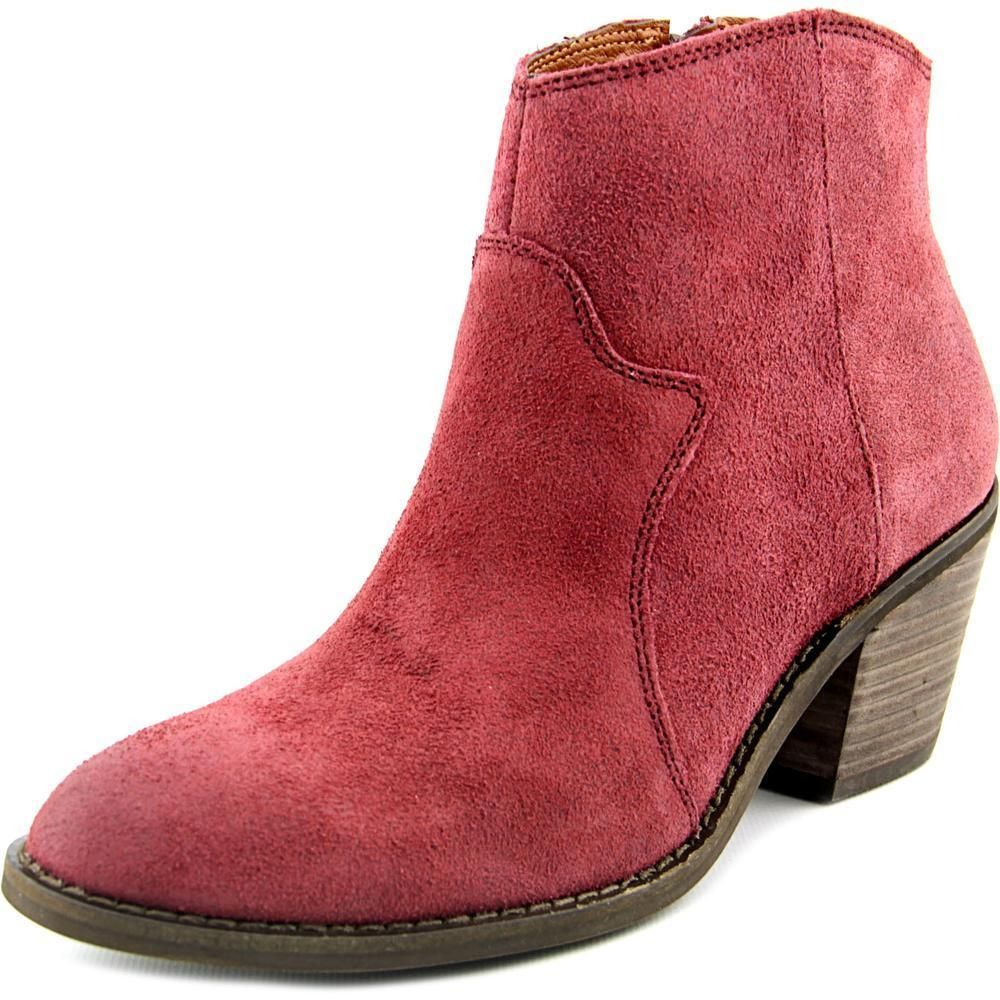 e19c4892f758d Lucky Brand Women s  Marcos  Red Suede Boots