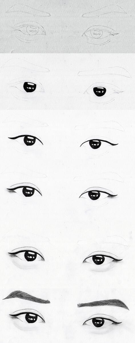 Step by step: EXO Chanyeol eyes by hunniecreeper on deviantART
