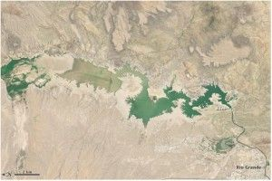 New Mexico's Elephant Butte Reservoir Dries Up Credit: NASA's Earth Observatory