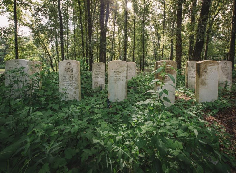 Moncrief Road Cemeteries Abandoned Florida in 2020