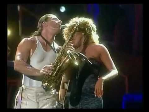 Tina Turner Private Dancer Check Out The Sax Player