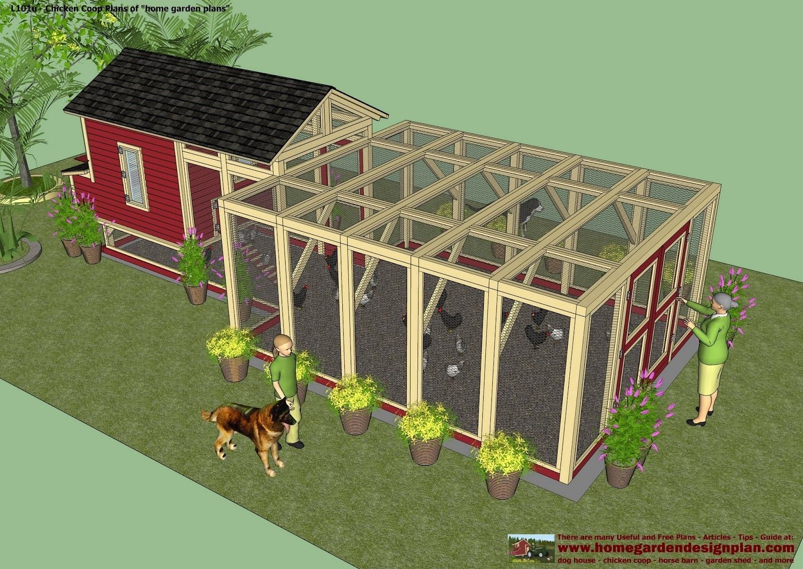 Simple Chicken Coops | ... Chicken Coop Plans - How To Build A Chicken Coop - Backyard Chicken