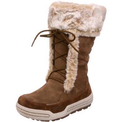 ECCO Women's Siberia Walking Boot.  $112.50 - $225.00            Explore every country side, mountain side, and city side with this Kazan boot from ECCO and you'll find you'll never have any limits. The leather upper pairs with a faux fur liner so your foot will stay dry and refreshed, while an interchangeable faux fur inlay provides co...