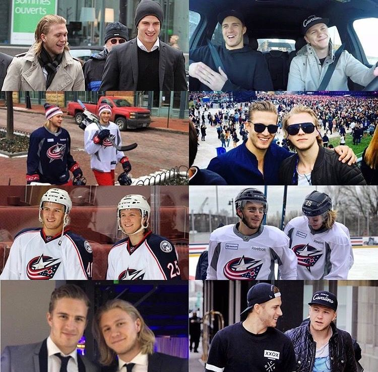 Neverforgetlars Hockey Players Hockey Baby Columbus Blue Jackets