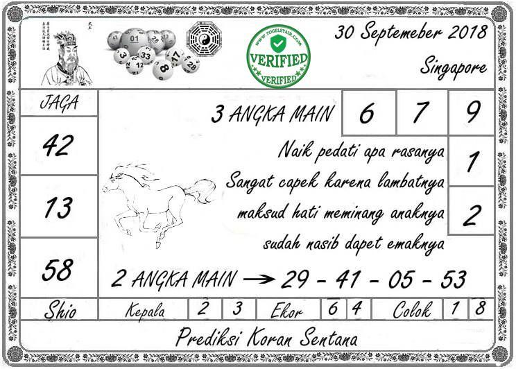 Togel Syair Singapore 30-09-2018,togel,togel singapore,pengeluaran