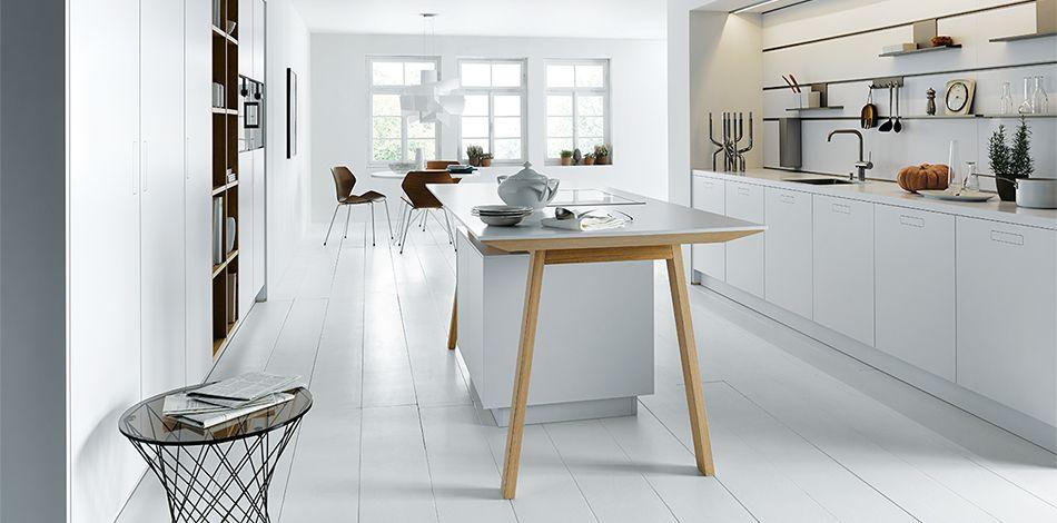 next125 - NX 800 Solid polarisweiß Keuken Pinterest Kitchens