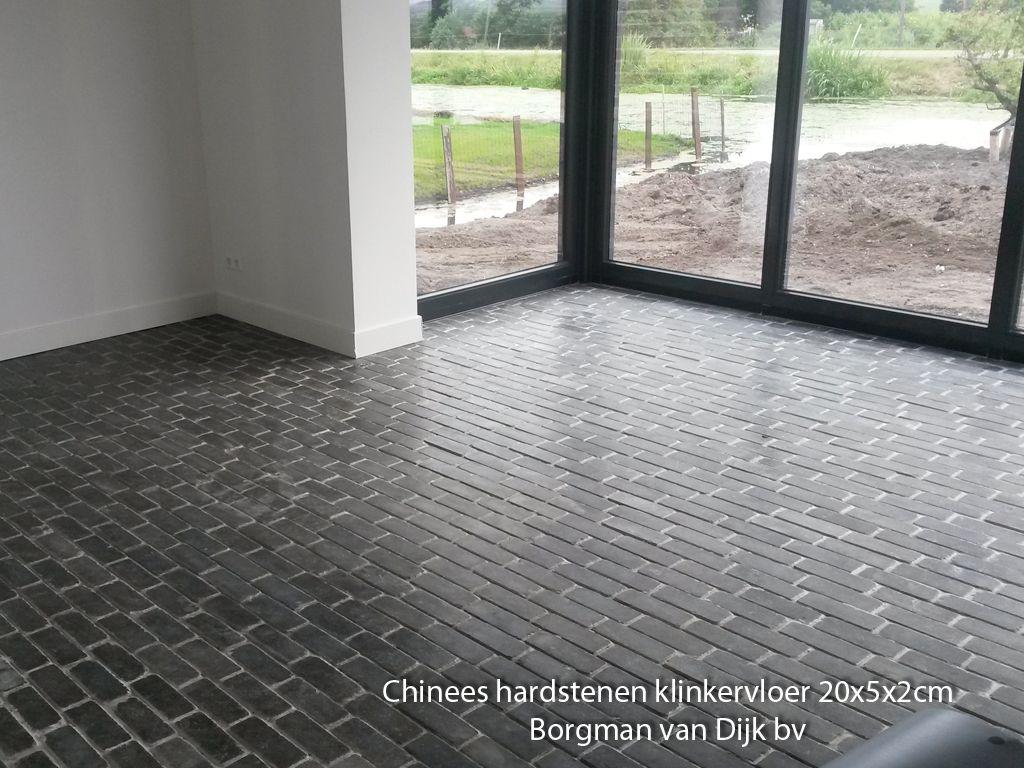 Chinees Hardsteen Binnen.Chinees Hardsteen Binnenvloer Klinkers 20x5x2cm Borgman