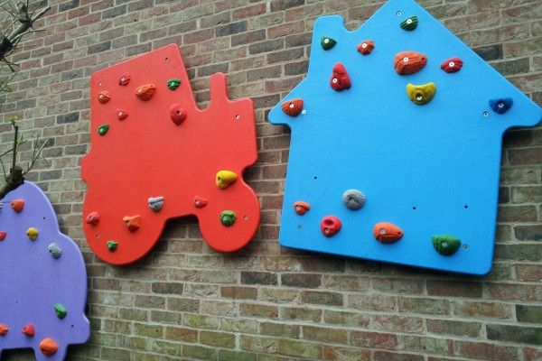 Climbing Shapes for walls