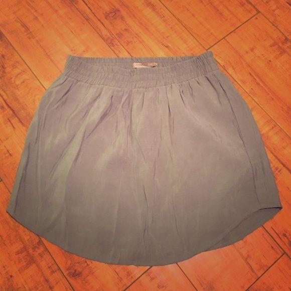 F21- Short, Grey Skirt w/ pockets Elastic waistband Forever 21 Skirts Mini