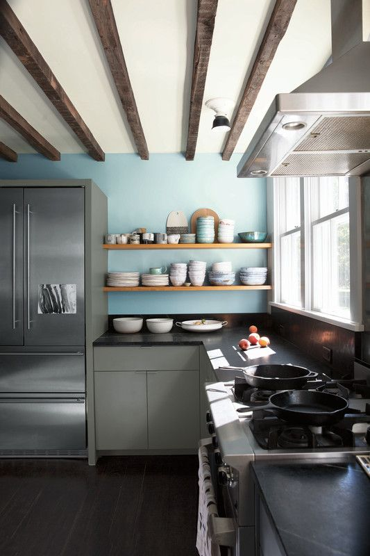 Guide to paint finishes eggshell satin sheen kitchen - Satin finish paint for interior walls ...