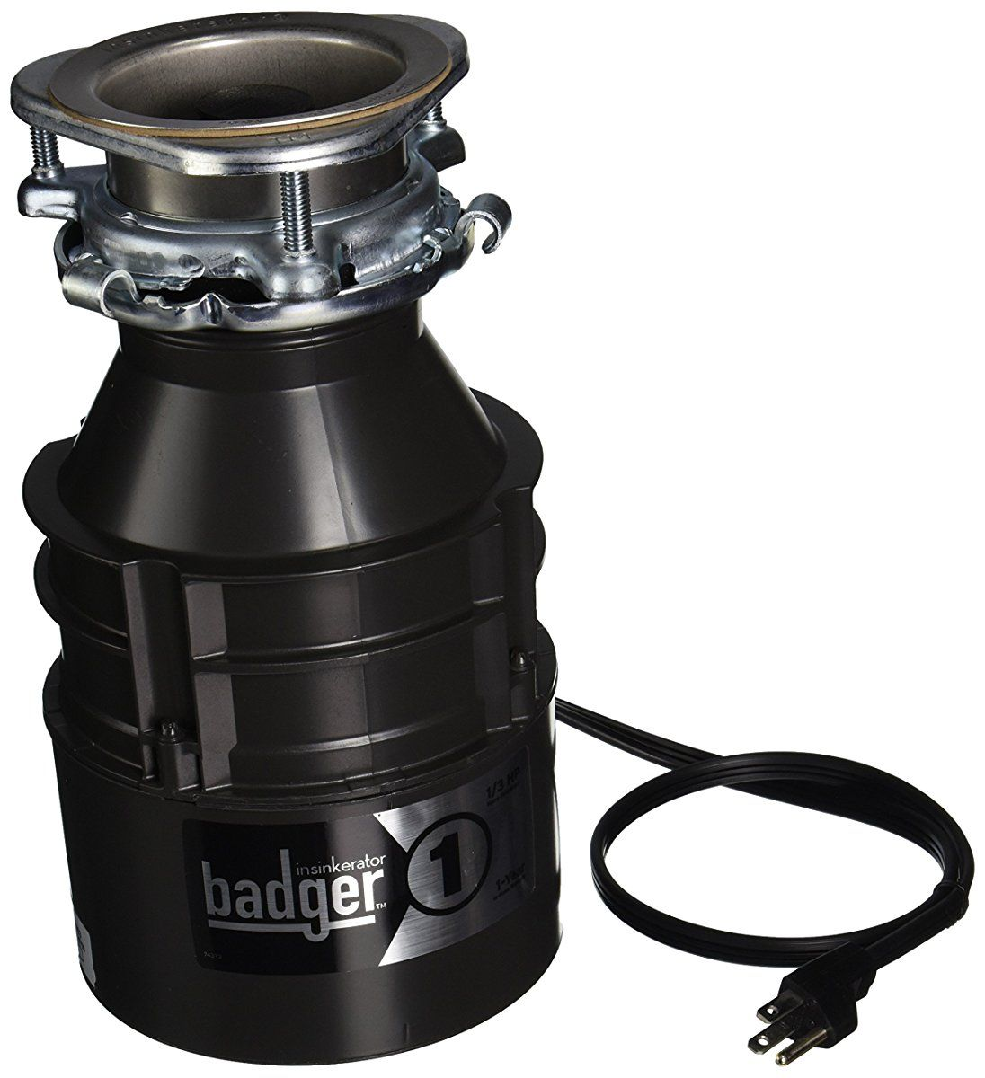 Insinkerator BADGER1CORD Household Food Waste Disposer