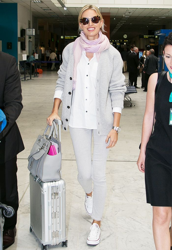 12 Insanely Stylish Celebrity Airport Arrivals Celebrity Airport