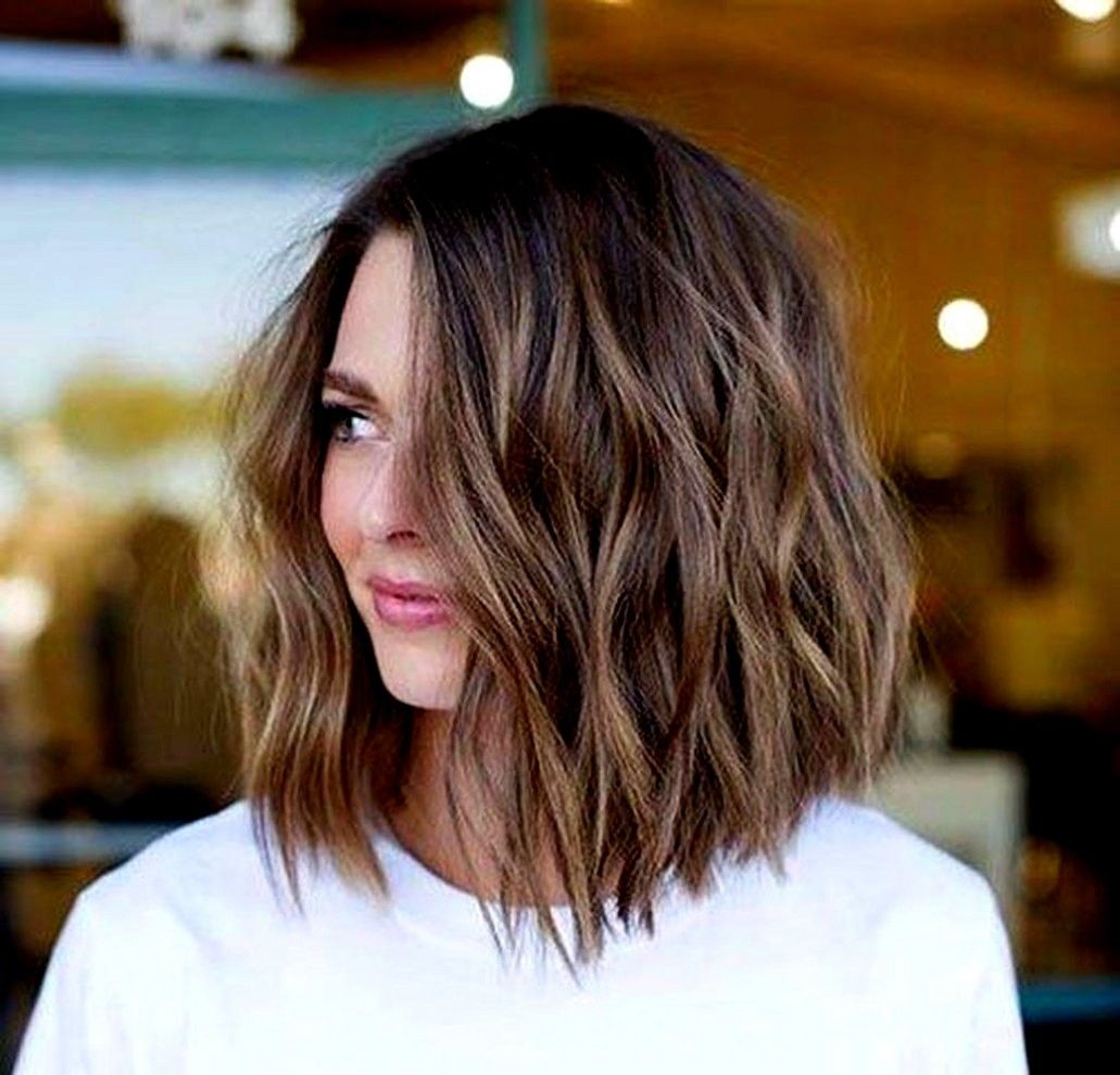 98 Inspirational Hairstyles For Medium Hair 2020 Long Bob Hairstyles Short Wavy Hair Wavy Bob Hairstyles