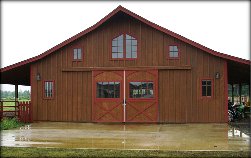 Love The Doors And Roof Shape I Like The Open Areas To Both Sides Barn House Plans Barn Style House Barn Kits