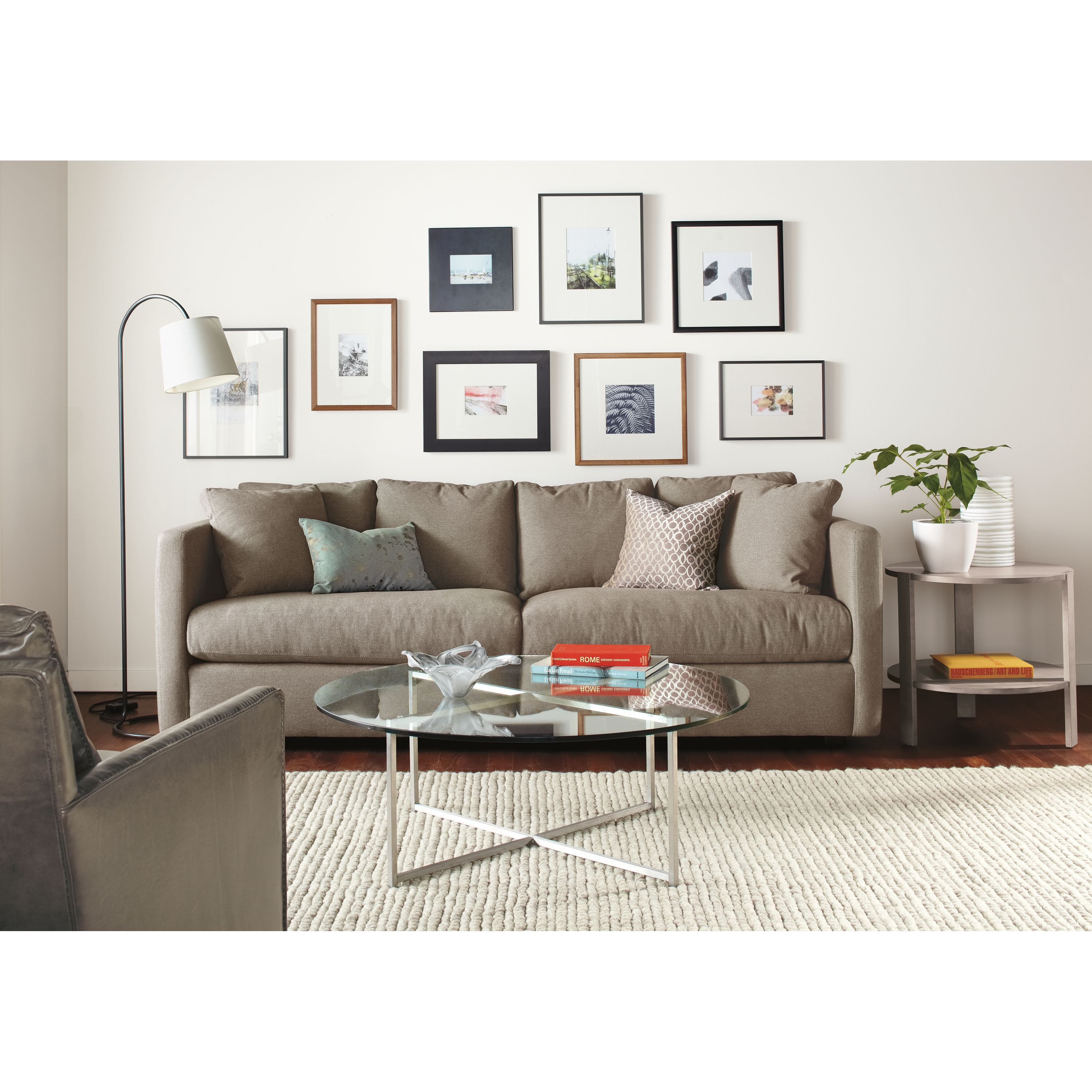 - Classic Cocktail Tables In Stainless Steel - Modern Coffee Tables