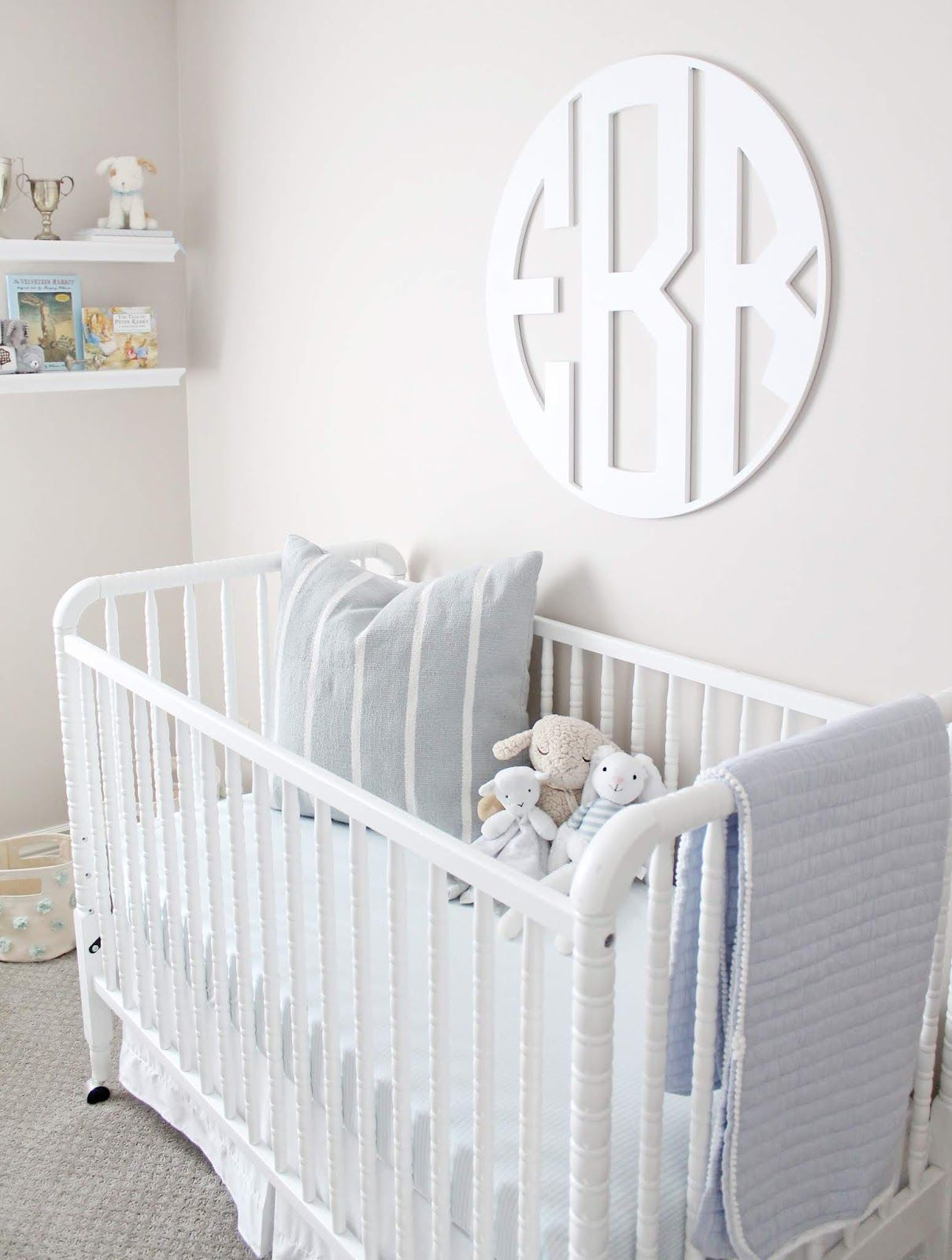Nursery Reveal! (A Classic Baby Boy Nursery) images