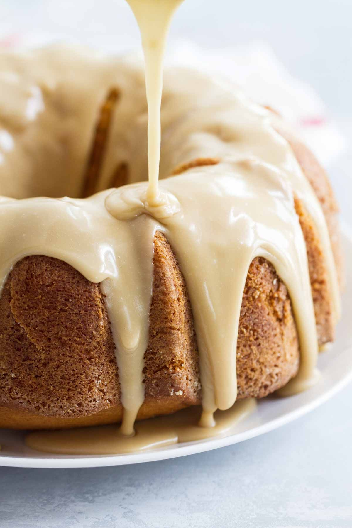 Buttermilk Pound Cake With Caramel Icing Recipe Buttermilk Recipes Buttermilk Pound Cake Pound Cake Recipes