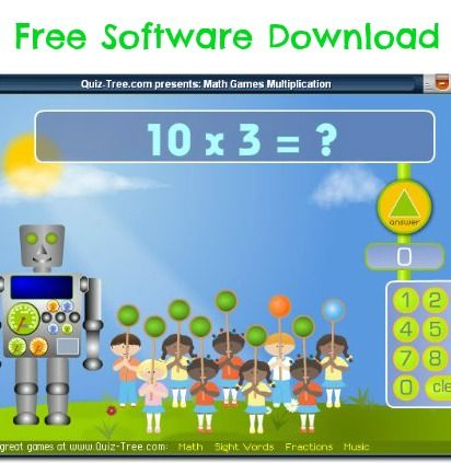 Free Software Download: Math Games Multiplication | Ultimate ...