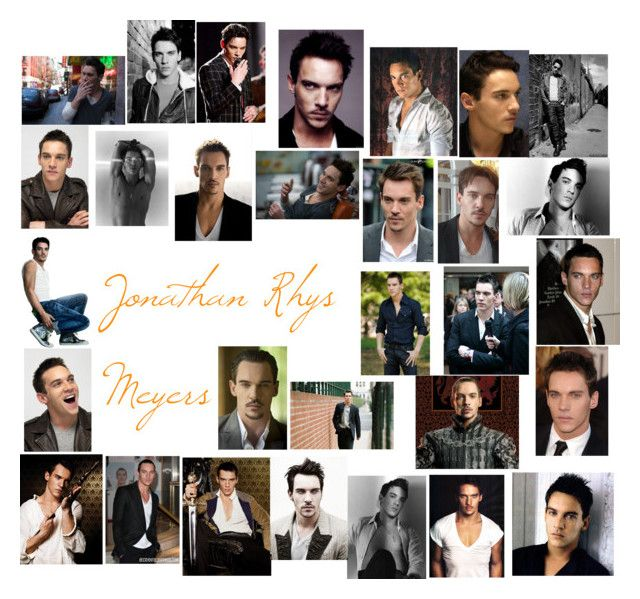 """Jonathan Rhys Meyers"" by roseangel21 ❤ liked on Polyvore featuring art"