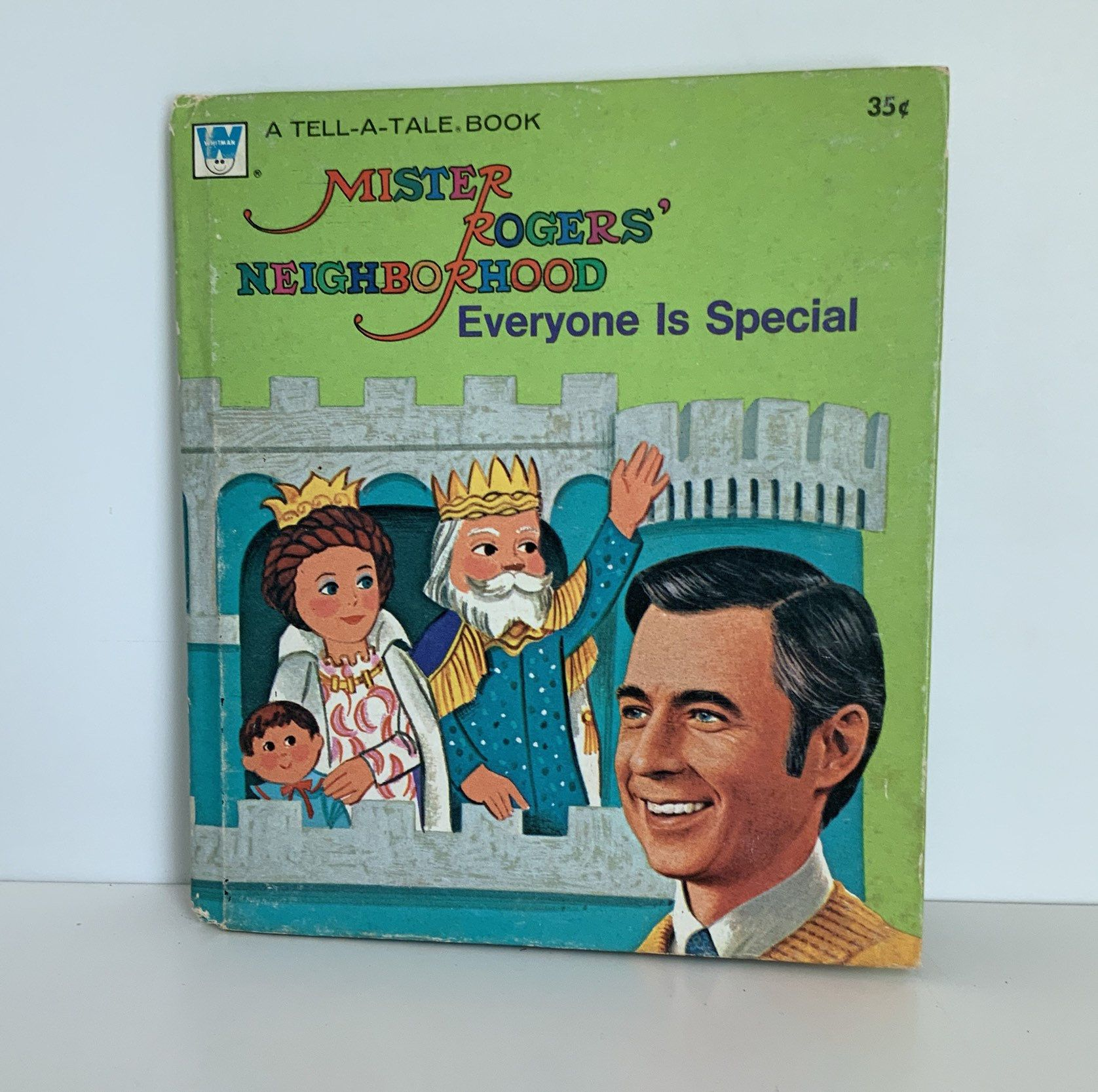 1975 Mister Rogers Neighborhood Book Whitman Tell A Tale Recycled Book Child S Book Etsy Booksand Mister Rogers Neighborhood Mr Rogers Little Golden Books