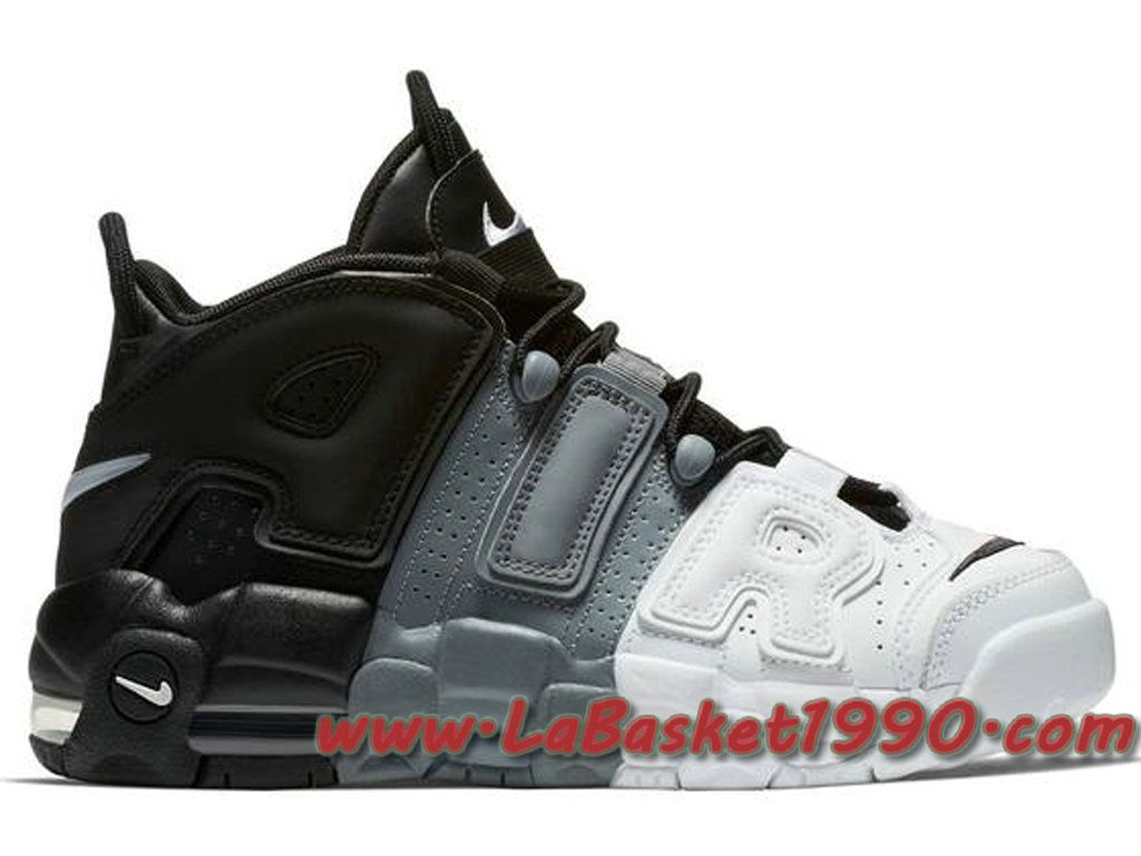 buy online 735f9 e8d93 Nike Air More Uptempo Tri-Color 921948-002 Chaussures de BasketBall Pas  Cher Pour