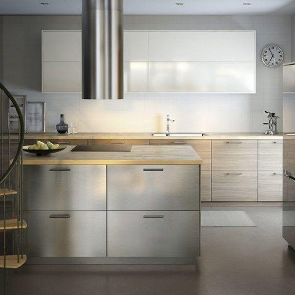 Ikea Metod Grevsta | Kitchen makeover | Pinterest | Kitchens and House