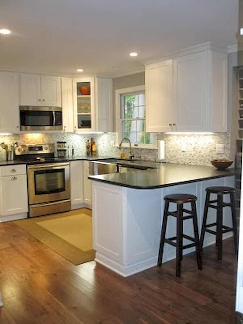 Kitchen Remodel: Beautiful Small Kitchen Remodel (6)