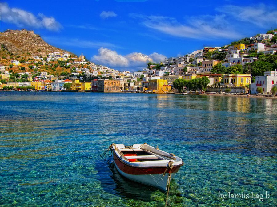 Best Island Beaches For Partying Mykonos St Barts: Leros Island Greece By Iannis Lag