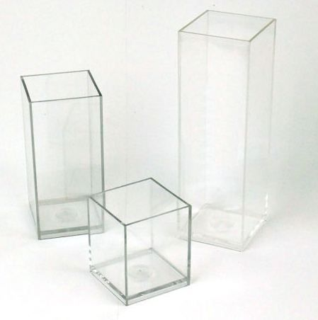 plastic candle Molds