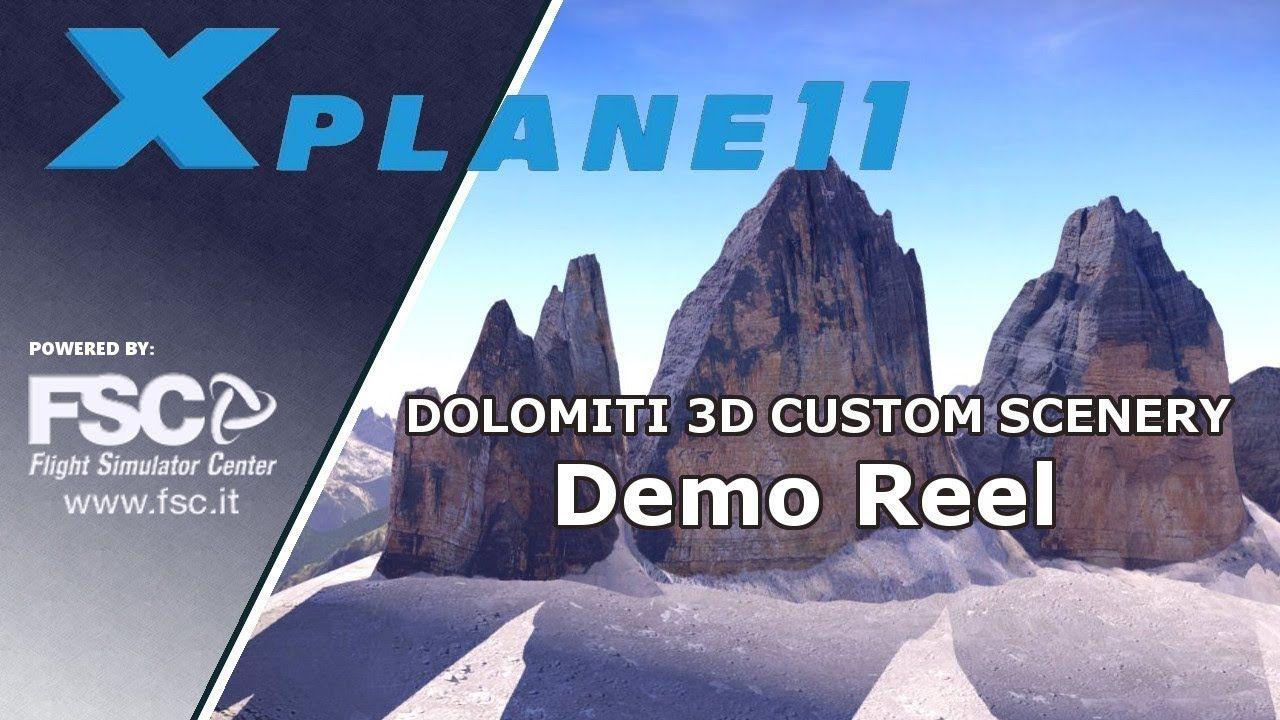Dolomiti 3D Custom Scenery